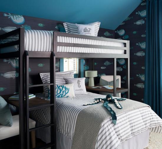 детская морская спальня
