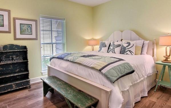 дизайн спальни в морском стиле