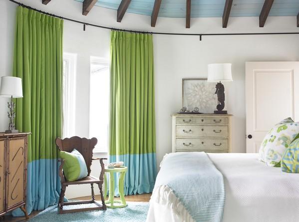 спальня с морскими мотивами