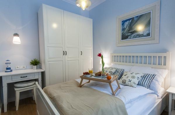 дизайн морской спальни