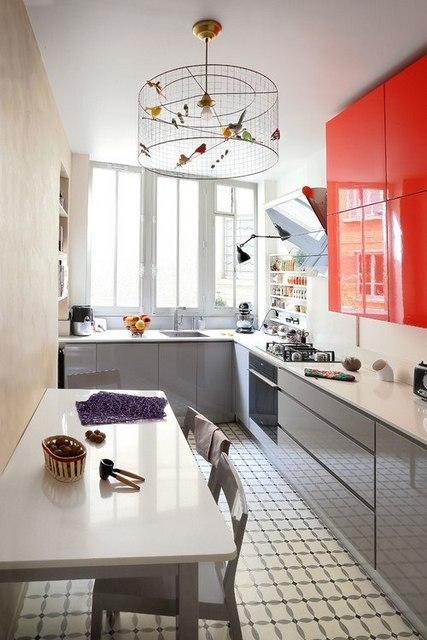 как выбрать цвет стола на кухню