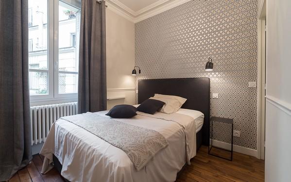 современная спальня во французском стиле