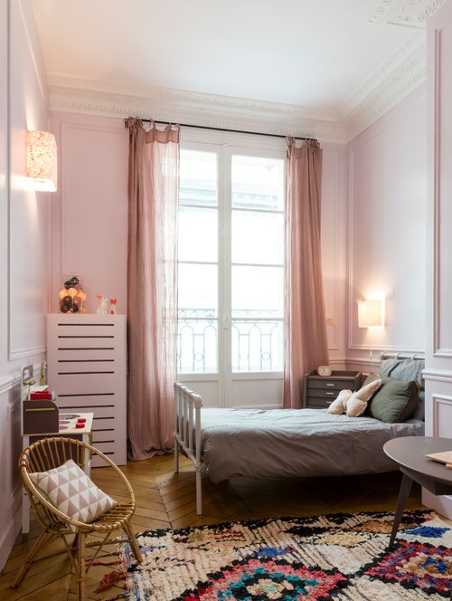 спальня в стиле французской классики