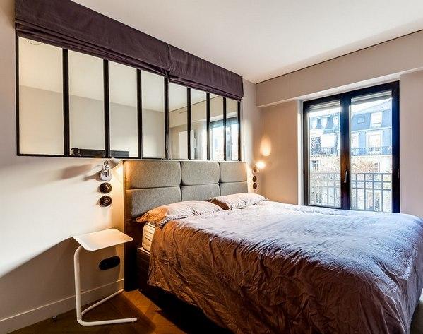 окно между спальней и гостиной