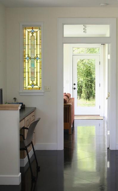 межкомнатное витражное окно