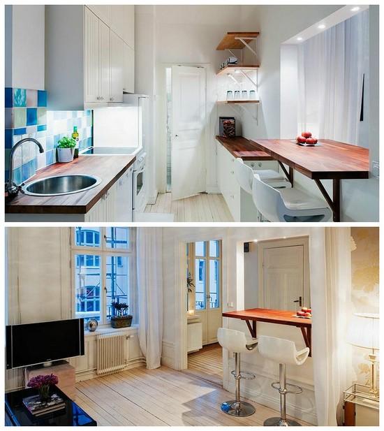 раздаточное окно в кухне