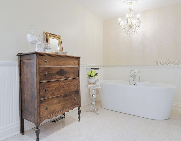 комод в ванной