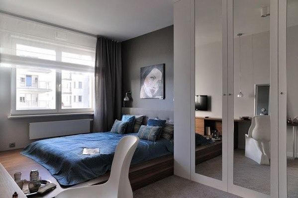 римские шторы фото в интерьере спальни фото