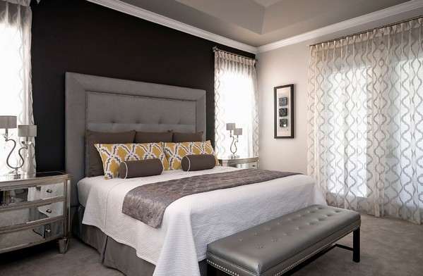 как выбрать цвет кровати