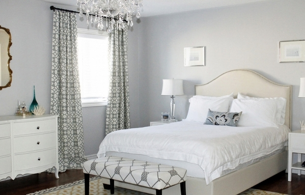 как выбрать цвет спинки кровати