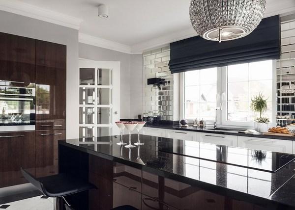 кухня в стиле ар-деко