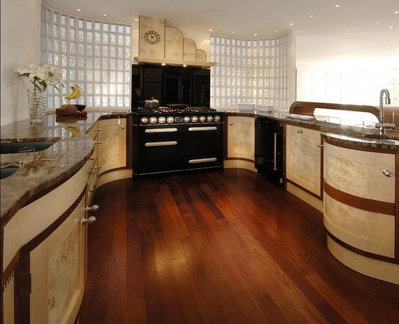 дизайн кухни в стиле арт деко