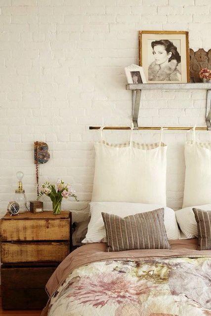 подушки вместо спинки
