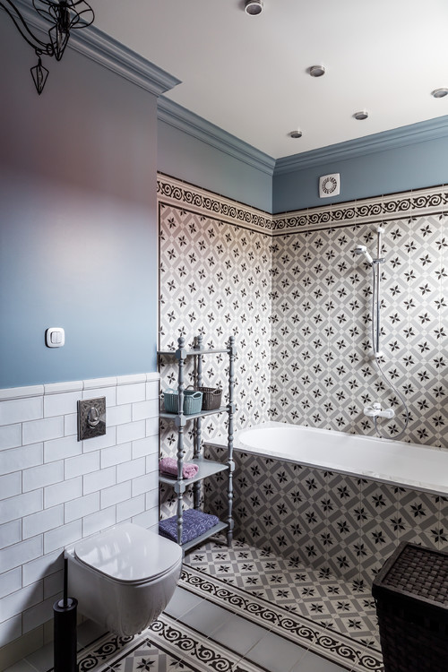 этажерка в ванной