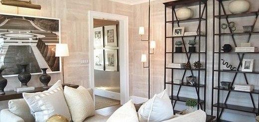 этажерки в интерьере