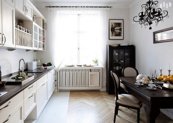дизайн кухни в стиле прованс домфронт