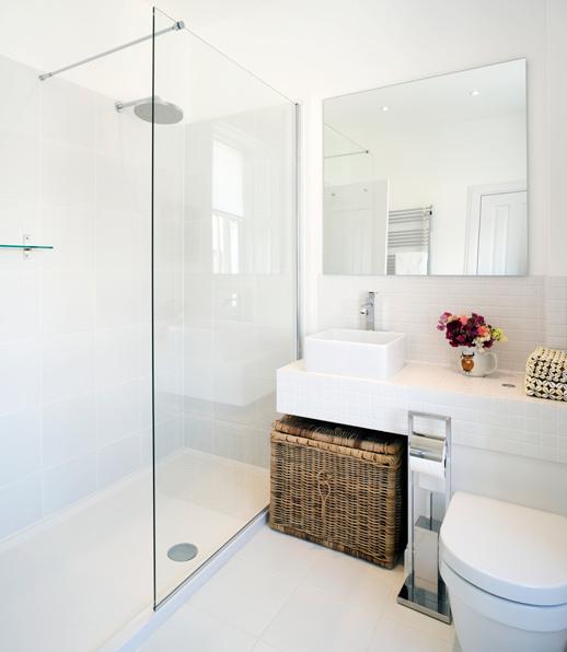 корзина для белья в ванной: идеи
