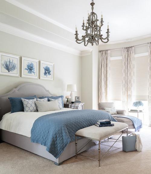 как подобрать цвет покрывала для кровати