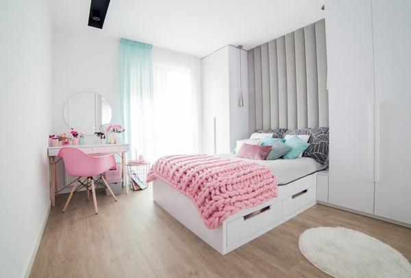 подо что подбирают цвет покрывала на кровать