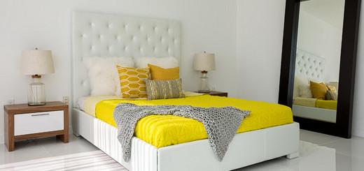 подо что подбирать цвет покрывала для кровати