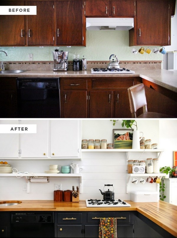 преображение кухни без ремонта