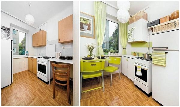 как улучшить вид старой кухни без ремонта