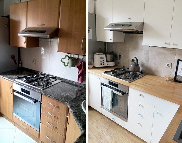 как обновить старую кухню