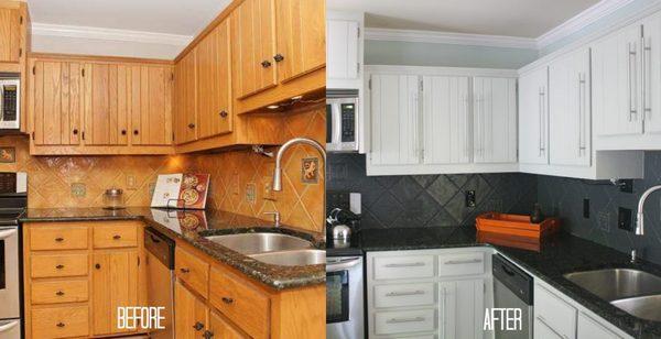 обновить фартук на кухне
