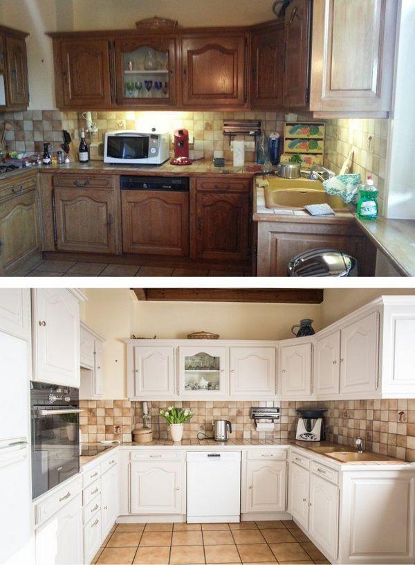 преображение старой кухни