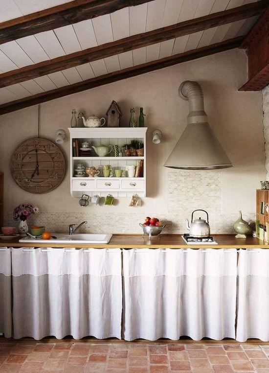 как улучшить вид очень старой кухни