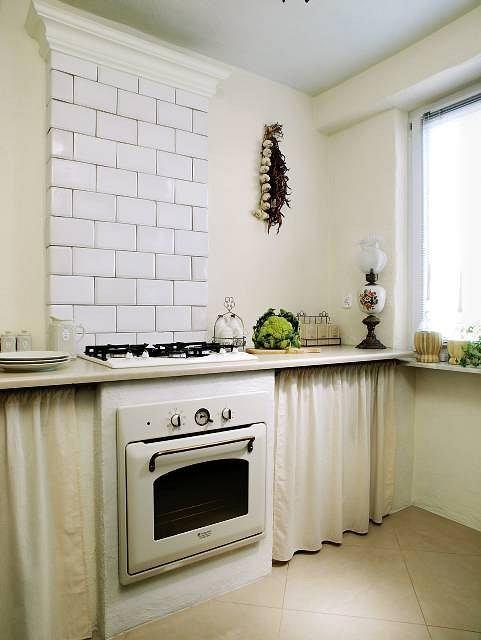 как преобразить очень старую кухню