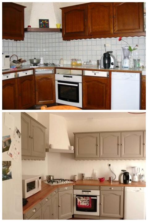 реставрация старой кухни