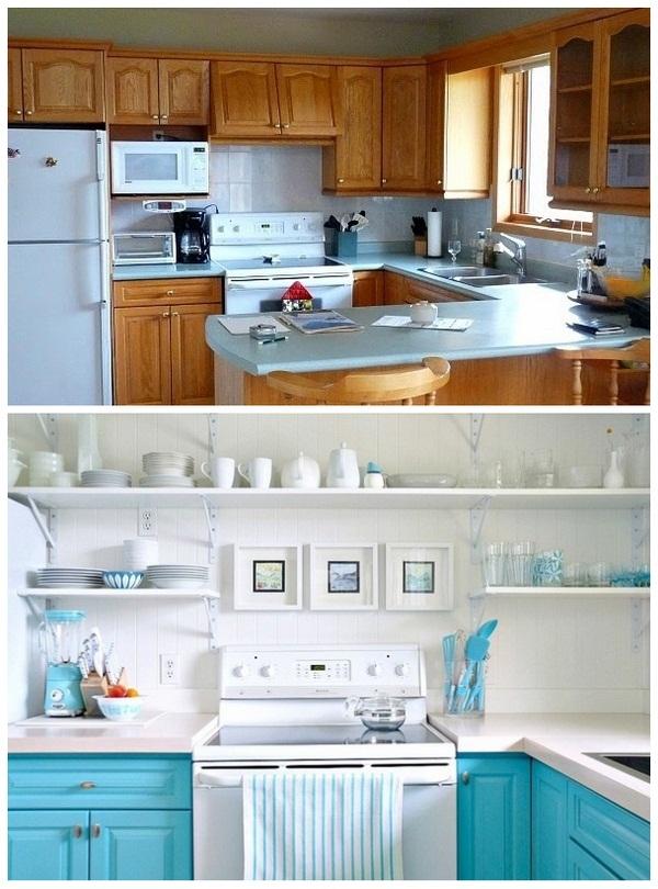 обновление старой кухни