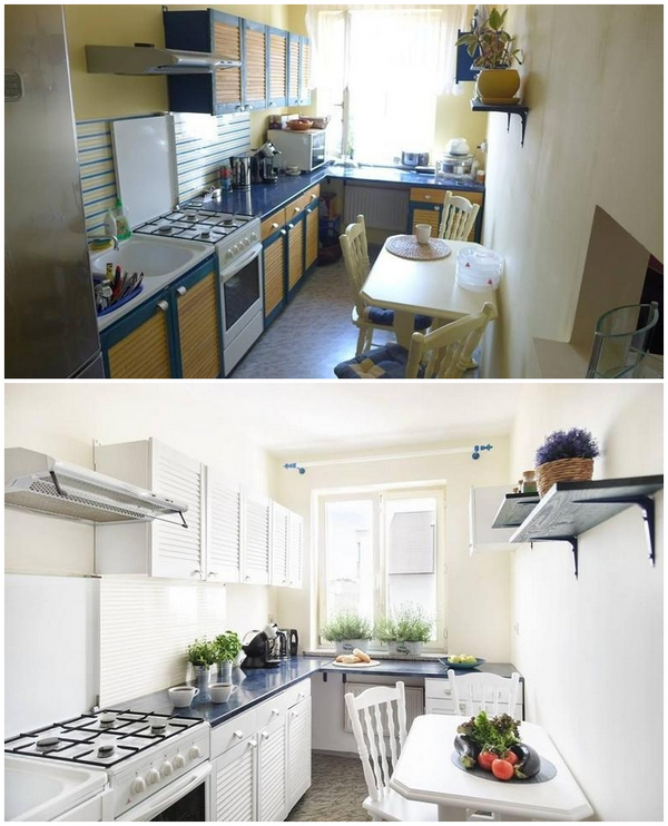 обновление кухни без ремонта и смены мебели