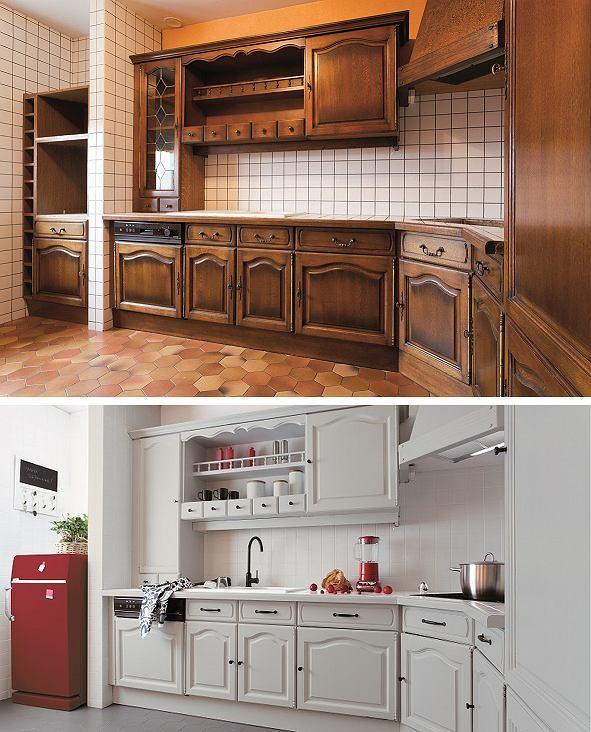 как улучшить вид старой кухни