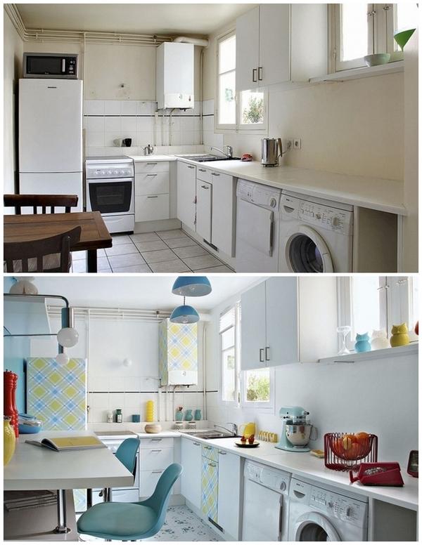 экономичное обновление кухни на съемной квартире