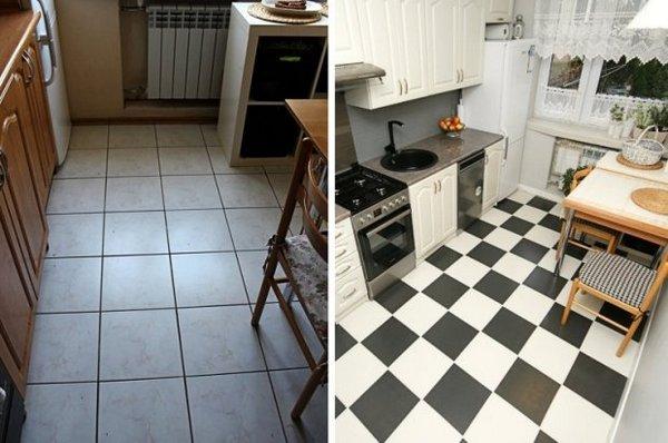 обновить кухню без капитального ремонта