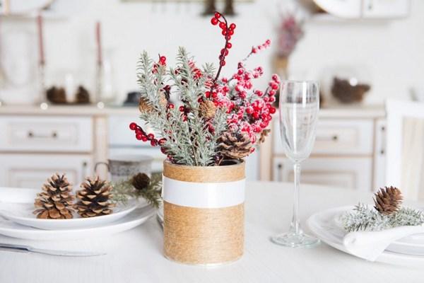 декор кухни к новому году