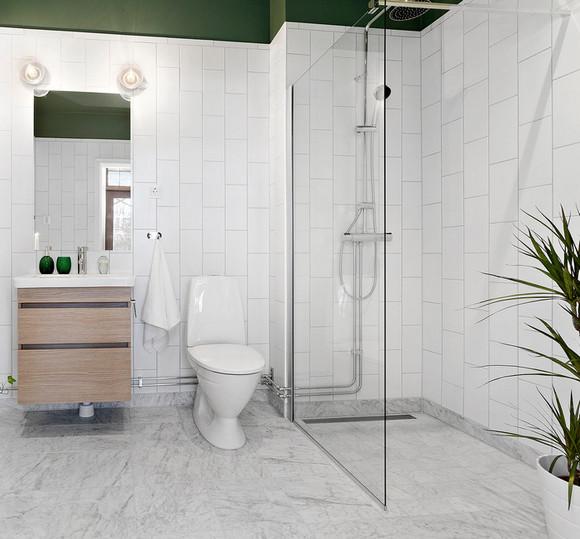 скандинавская ванная