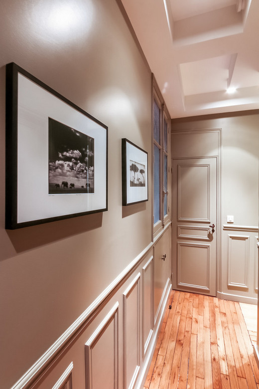 межкомнатные двери в один цвет со стеной