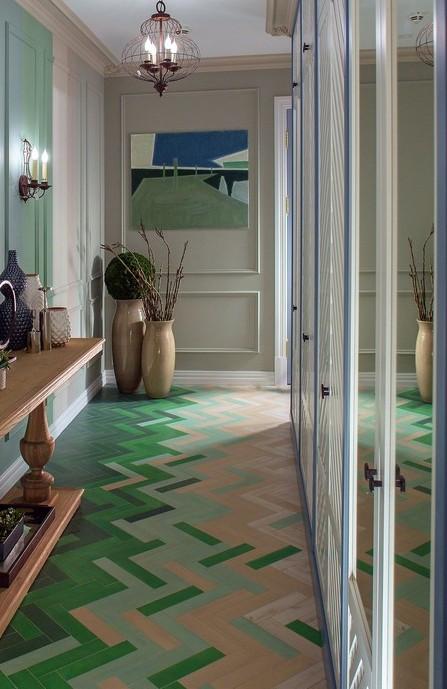кафель в коридоре