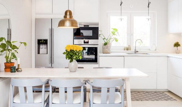 коврики и дорожки в интерьере кухни