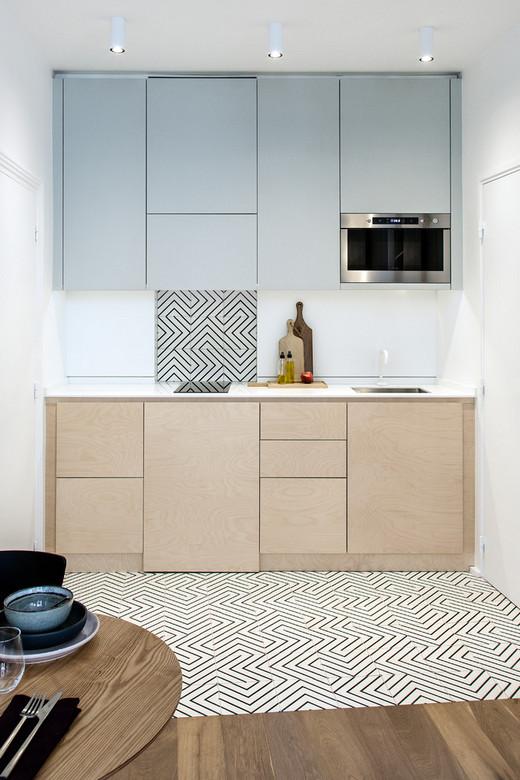 верхние кухонные шкафы до потолка