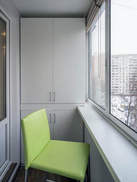 шкаф на лоджию или балкон