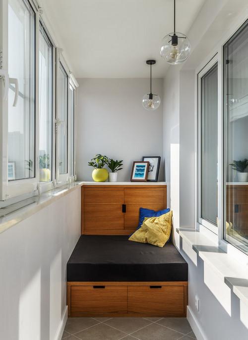 шкафчик на балконе и лоджии