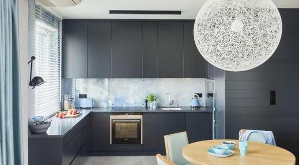 кухонная столешница в цвет фасадов