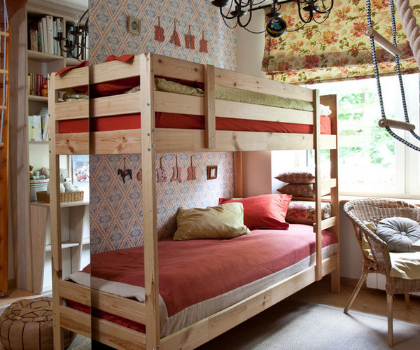 декор стен над детскими кроватями