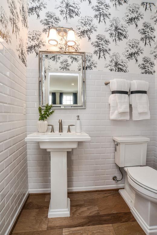 плитка в туалете: до какой высоты
