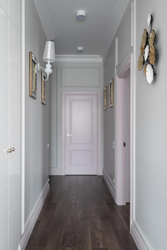 как сочетать двери и полы в интерьере