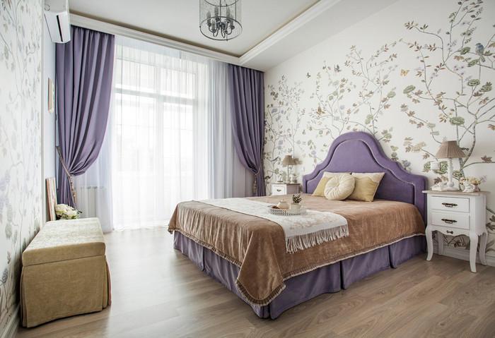 как связать окно и кровать в спальне